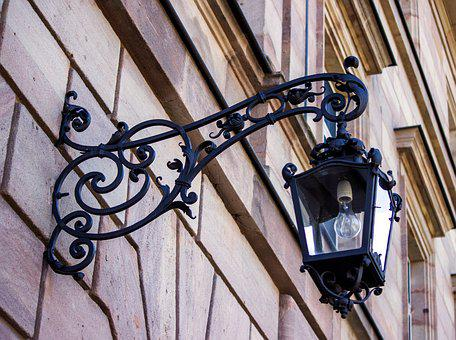 Architecture, Old, Lamp, Glass, Lantern, Building, Home