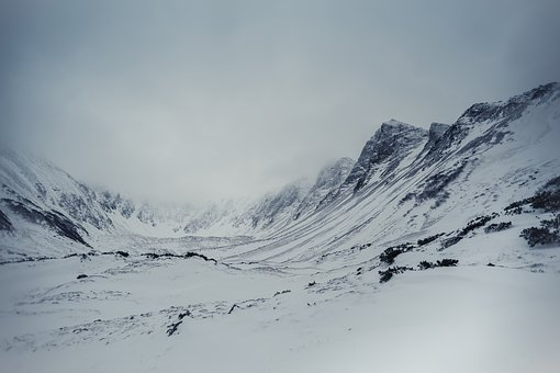 Snow, Winter, Mountain, Coldly, Ice, Landscape, No One