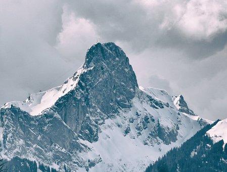 Snow, Mountain, Ice, Mountain Peak, Glacier, Majestic