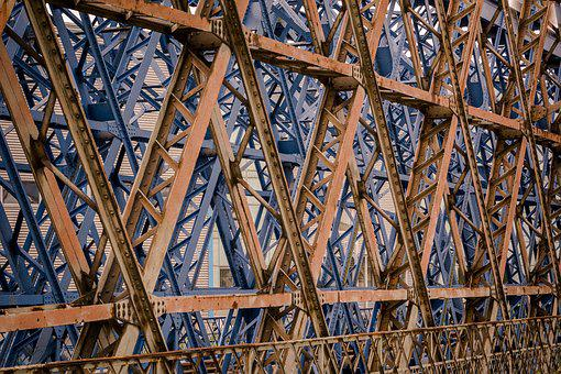 Expression, Industry, Steel, Iron, Wood, Architecture