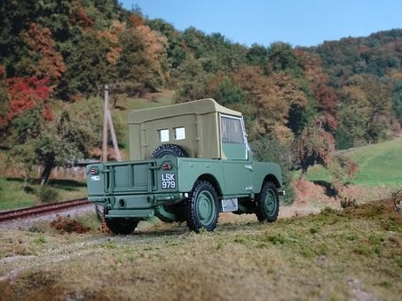 All Terrain Vehicle, Land Rover, Oldtimer, Offroad