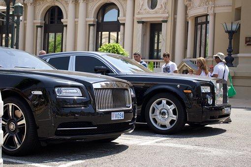 Car, Vehicle, Street, Rolls Royce, Monaco