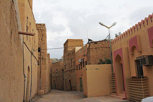 Al Hamra, Nizwa, Oman, Old, 400-year, Village