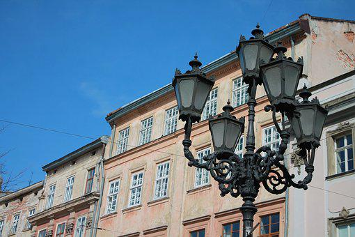 Architecture, Old, Megalopolis, Street, City, Ukraine