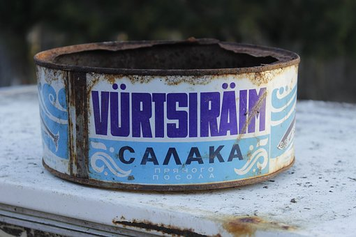 Container, Horizontal, Wood, Old, Outdoors, Decoration