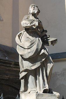 Sculpture, Statue, Art, Old Town, Ukraine, Lviv
