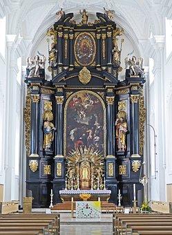 High Altar, St Paul, Passau, Church, Religion