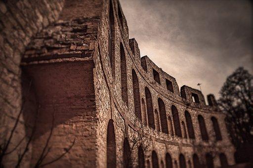 Architecture, Ruinenberg, Ruins, Potsdam