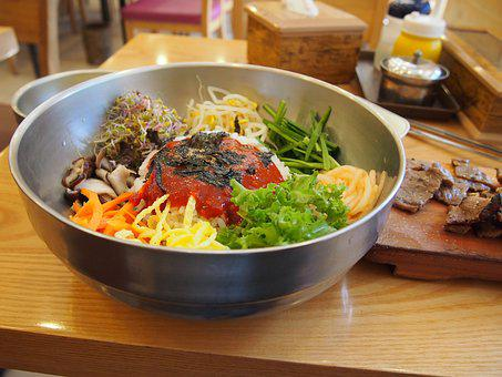 Korean Food, Diet, Seoul, Bibimbap