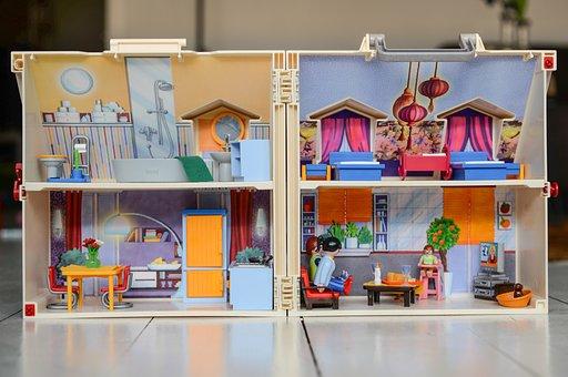 Toy, Playmobil, Shelf, Indoors, Shop, Stock, Inside