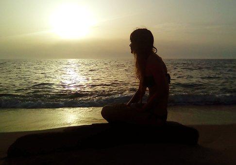 Sunset, Body Of Water, Beach, Sea, Dawn, Travel