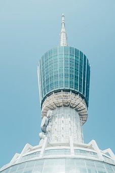 Building, City, Sky, High, Tower Telecom, Shenzhen