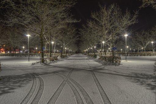 Road, Street, Traffic, Transport, Winter