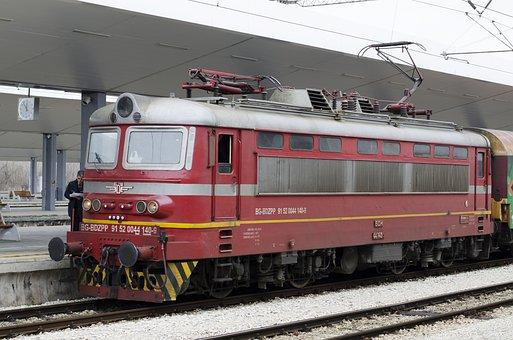 Train, Bulgaria, Railway, Transportation, Travel, Rail