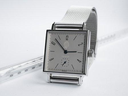 Clock, Number, Wrist Watch, Minute, Precision