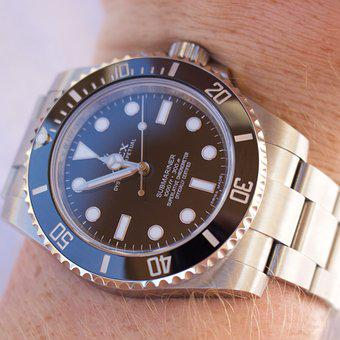 Time, Watch, Clock, Wristwatch, Timer, Rolex