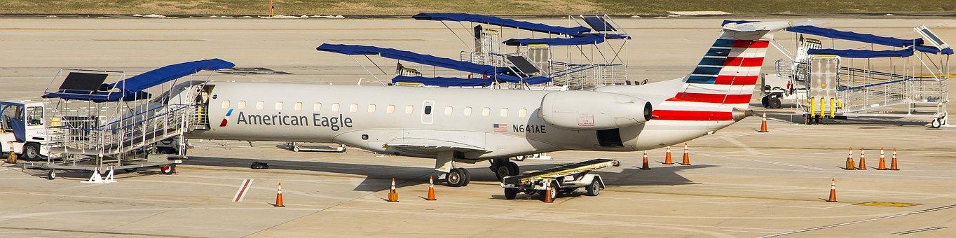 Airplane, Transportation System, Jet, Flight, Airport