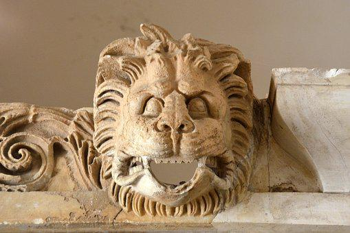 Sculpture, Art, Antiquity, Lion