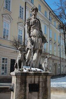 Statue, Sculpture, Architecture, Travel, Art, Ukraine