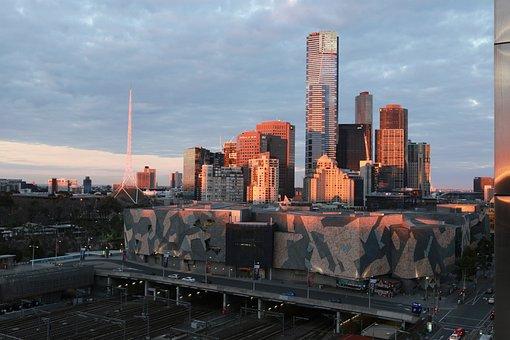 City, Building, A Bird's Eye View, Cityscape, Tourism