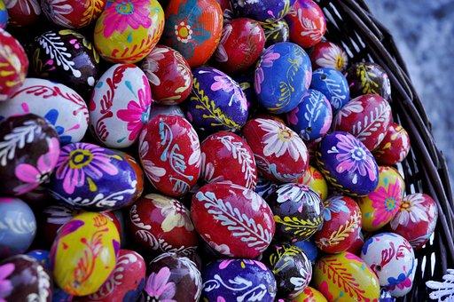 Easter, Easter Eggs, Christmas Decoration