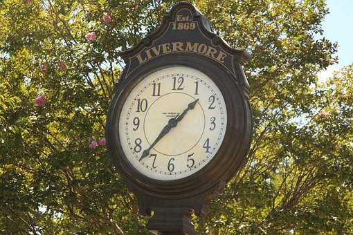 Clock, Time, Old, Outdoors, Nature, Park