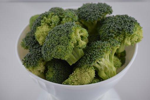 Broccoli, Food, Vegetable, Healthy, Freshness, Closeup