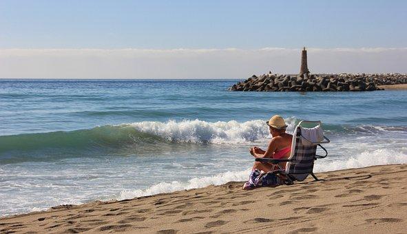 Waters, Sea, Beach, Sand, Coast, Travel, Ocean, Surf