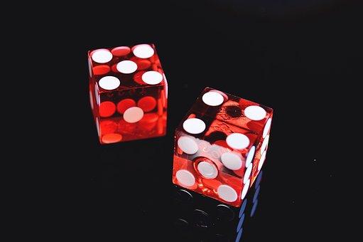 Casino, Dice, Las Vegas, Games, Cube, Red, Transparent