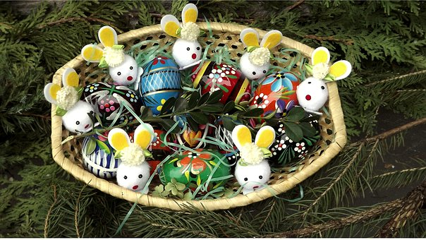 Easter, Season, Nature, Composition, Decoration