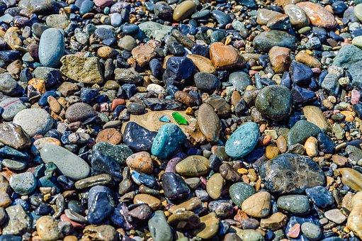 Rock, Natural, Stone, Pattern, Batch, Gravel