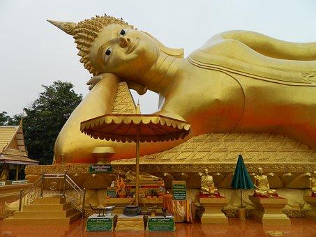 Sculpture, Buddha, Statue, Travel, Temple, Religion