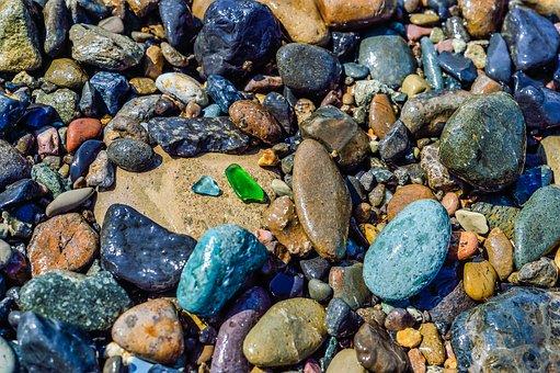 Natural, Stone, Rock, Many, Mixture Combination, Gravel