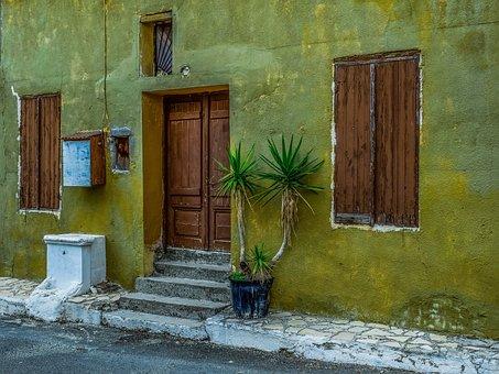 Facade, Door, Windows, House, Architecture, Traditional