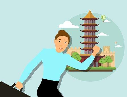 China, Traveler, Travel Woman, Chinese, Beijing