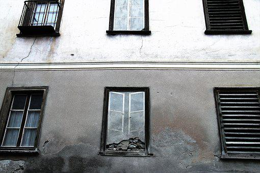 Kamienica, Monument, Window, House, No One