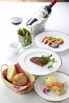 Food, Meal, Plate, Dinner, Restaurant, Healthy, Wine