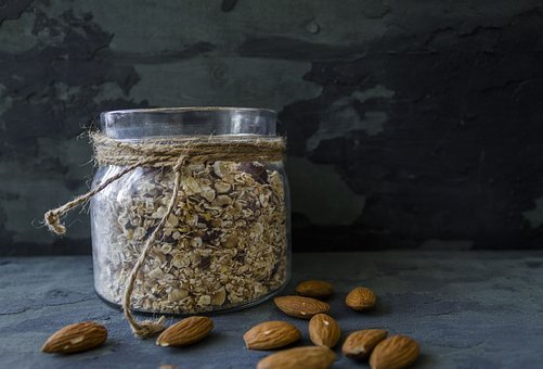 Food, Background, Hercules, Cereals, Almond, Bank, Nuts