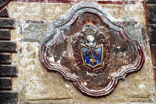 Coat Of Arms, Old, The Art Of, Architecture, House