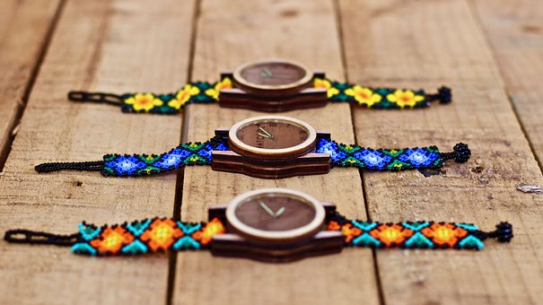 Watch, Craft, Huichol Craft, Mexican Craft, Art