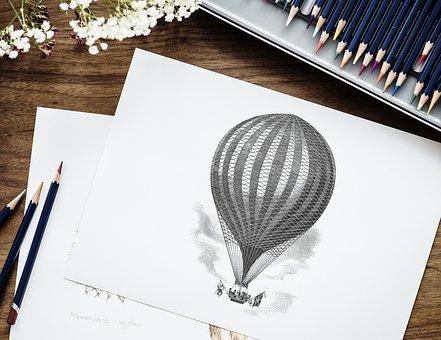 Paper, Artist, Bright, Closeup, Color, Colorful