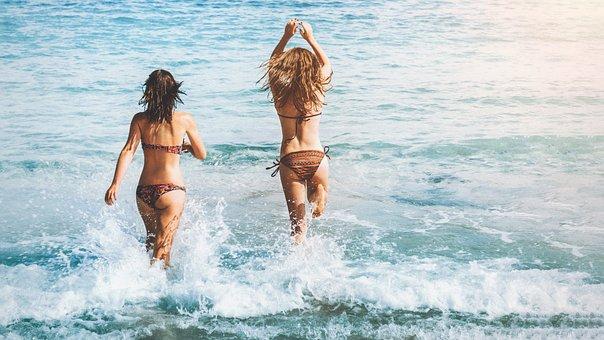 Water, Beach, Sea, Summer, Ocean, Bikini, Vacation