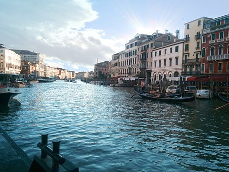 Body Of Water, City, Travel, Channel Navigation
