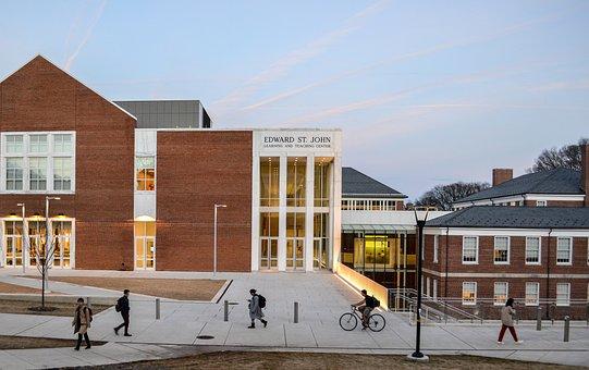 Architecture, Building, Campus, University, Modern