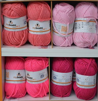 Balls Of Wool, Color Pink, Wire, Create, Couture