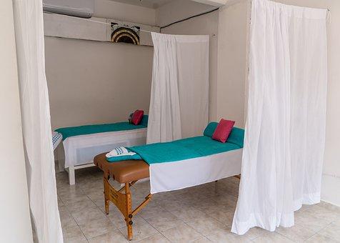 Massage Studio, Mexico, Cozumel, Curtain, Inside, Hotel