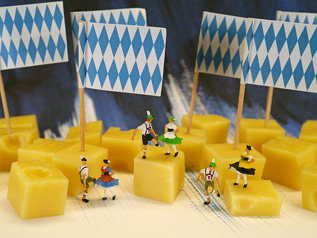 Bavaria, Cheese, Cheese Cubes, Costumes, Dance