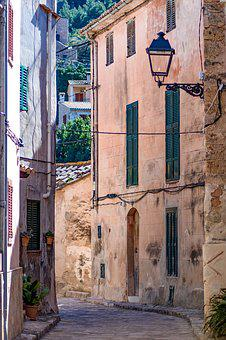 Mallorca, Estellencs, Alley, Architecture, Old, City