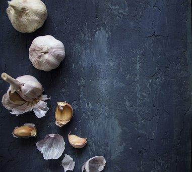 Food, Garlic, Vegetable, Background, Health