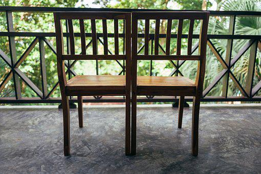 Wood, Wooden, Furniture, Seat, Chair, Balcony